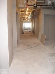 A sneak peak at the new huge Dania Showroom under construction