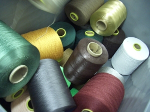 Thread used on state of the art looms