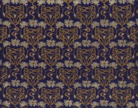 Hand-woven velvet commissioned by Queen Margherita in 1902